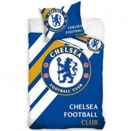 BedTex Bavlněné povlečení FC Chelsea, 160 x 200 cm, 70 x 80 cm