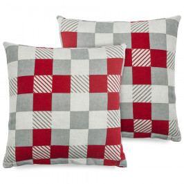 4Home Povlak na polštářek Checker, 2x 40 x 40 cm, 40 x 40 cm