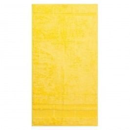 Bade HomeRučník Bamboo žlutá, 50 x 90 cm