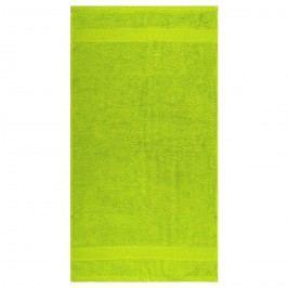 Night in Colours Osuška Olivia trávově zelená, 70 x 140 cm, 70 x 140 cm