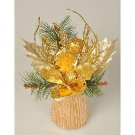 Aranžmá Magnólie zlatá, 23 cm