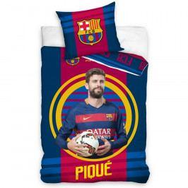 TipTrade Bavlněné povlečení FC Barcelona Pique 2016, 140 x 200 cm, 70 x 90 cm