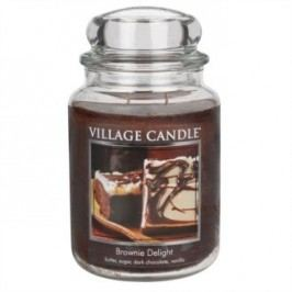 Village Candle Vonná svíčka, Čokoládový dortík - Brownies Delight, 645 g
