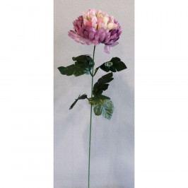 Umělá květina Chryzantéma, světle fialová