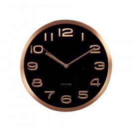 Karlsson KA5578BK Designové nástěnné hodiny, 29 cm