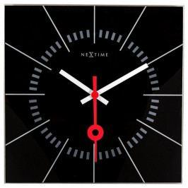 Nextime Stazione 8636zw nástěnné hodiny