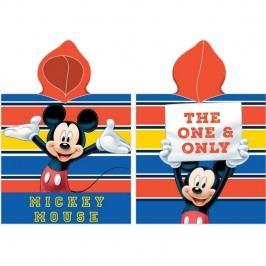 BedTex Dětské pončo Mickey Mouse The One and Only, 50 x 100 cm