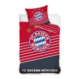 TipTrade Fotbalové povlečení BMFC 02 Bayern, 160 x 200 cm, 70 x 80 cm, 160 x 200 cm, 70 x 80 cm