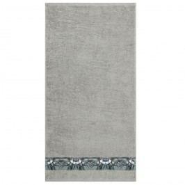 Ručník Tulip šedá, 50 x 100 cm, 50 x 100 cm