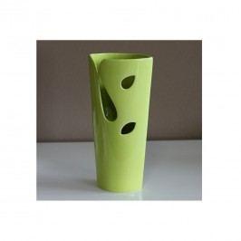 Autronic Keramická váza zelená, 27 cm Dekorativní vázy