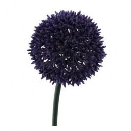 Umělá květina Česnek tmavě fialová, 68 cm Umělé květiny