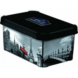 Úložný box dekorativní S PARIS, Curver