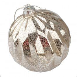 Vánoční svítící ozdoba Lucera, stříbrná
