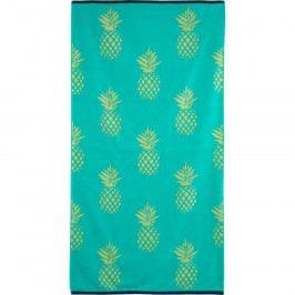 TipTrade Plážová osuška Pineapple, 90 x 170 cm