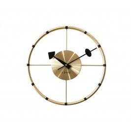 Nástěnné hodiny Lavvu Compass zlatá, pr. 31 cm