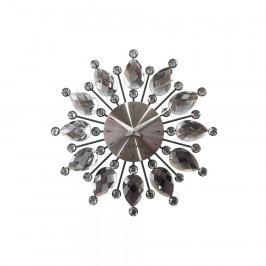 Nástěnné hodiny LAVVU CRYSTAL Flower LCT1121