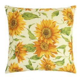 Bellatex GITA polštářek Květ slunečnice, 45 x 45 cm