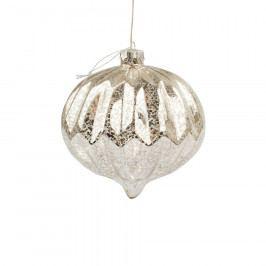 Vánoční svítící ozdoba Lavello, stříbrná Vánoční dekorace