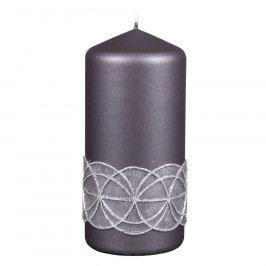 NG 94622tš Svíčka GLAMOUR VÁLEC vánoční d7x15cm 70x70x150