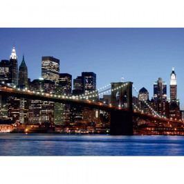AG Art Fototapeta XXL Brooklynský most 360 x 270 cm, 4 díly Tapety