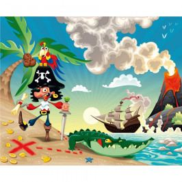 AG Art Dětská fototapeta XXL Pirát 360 x 270 cm, 4 díly