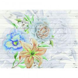 AG Art Fototapeta XXL Flores 360 x 270 cm, 4 díly