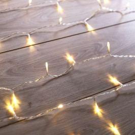 DecoKing Světelný vánoční řetěz teplá bílá, 200 LED