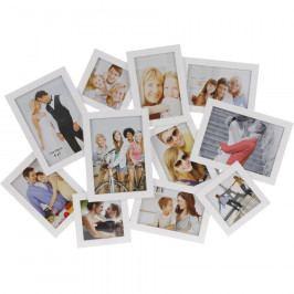 Fotorámeček People na 11 fotografií, bílá Rámečky na fotky