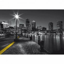 AG Art Fototapeta XXL Bostonské nábřeží 360 x 270 cm, 4 díly