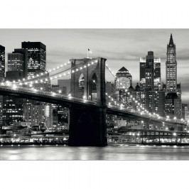 AG Art Fototapeta XXL Panorama Manhattanu 360 x 270 cm, 4 díly Tapety
