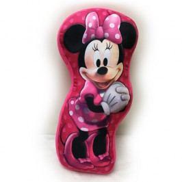 Jerry Fabrics Tvarovaný polštářek Minnie Mouse, 34 x 30 cm