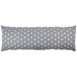 4Home povlak na Relaxační polštář Náhradní manžel Stars šedá, 50 x 150 cm, 50 x 150 cm