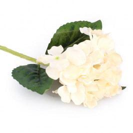 Umělá květina Hortenzie bílá, EW205