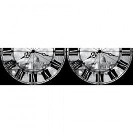 AG Art Samolepicí bordura Římské hodiny, 500 x 14 cm  Tapety
