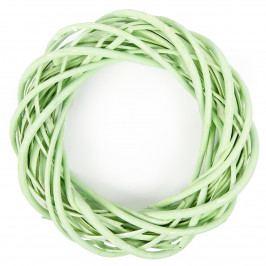 Proutěný věnec zelená, pr. 25 cm