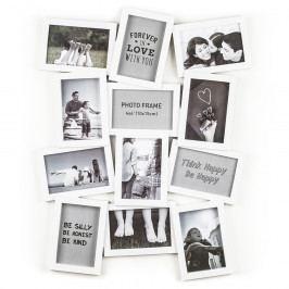 Fotorámeček Marion na 12 fotografií, bílá Rámečky na fotky