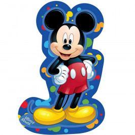 Jerry Fabrics Tvarovaný polštářek Mickey blue, 31 x 19 cm