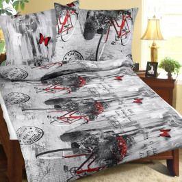Bellatex Povlečení bavlna 90/511 romantika