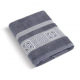 Bellatex Froté ručník Řecká kolekce šedomodrá, 50 x 100 cm