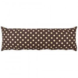 4Home Povlak na Relaxační polštář Náhradní manžel Puntík Čokoláda