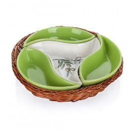 Banquet Mísa v košíku Olives 4 dílů OK 23cm