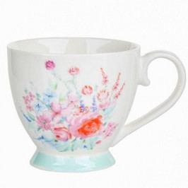 Altom Porcelánový hrnek Pastelový květ 430 ml