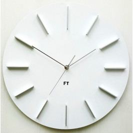 Future Time FT2010WH Round white Designové