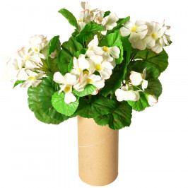 Umělý Muškát bílá, 30 cm