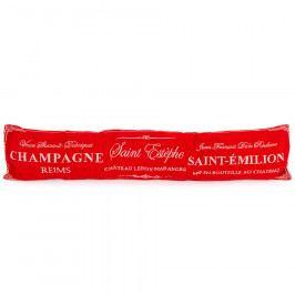 BO-MA Trading Ozdobný těsnící polštář do oken Champagne červená