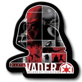 Jerry Fabrics Tvarovaný polštářek Darth Vader, 31 x 19 cm