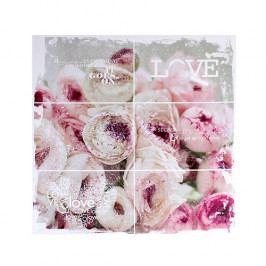 Obraz na plátně Love, 28x28cm