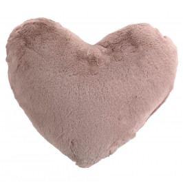Altom Polštářek Srdce růžová, 40 x 40 cm