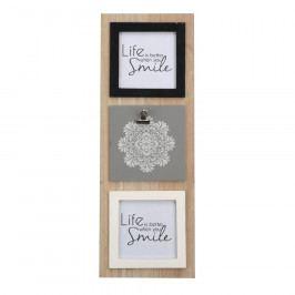 Altom Fotorámeček na 3 fotografie Mandala, 15 x 42 cm Rámečky na fotky