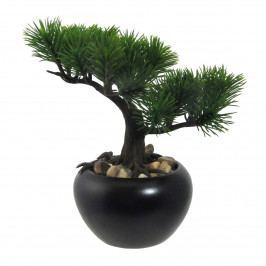 Umělá bonsaj Borovice v květináči zelená, 19 cm  Umělé květiny